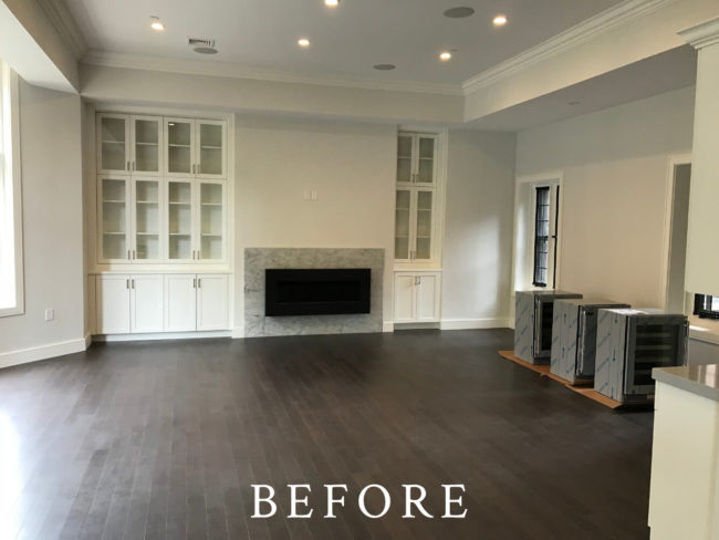 Back Bay Staging - Before