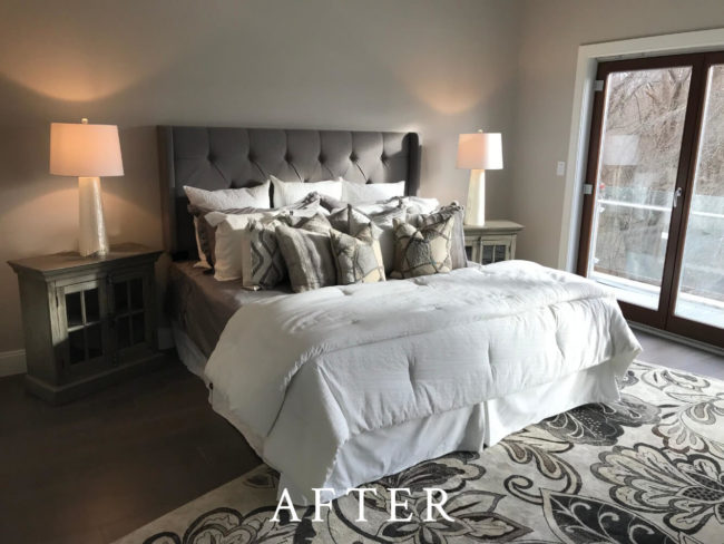 Beacon Street Staging - After