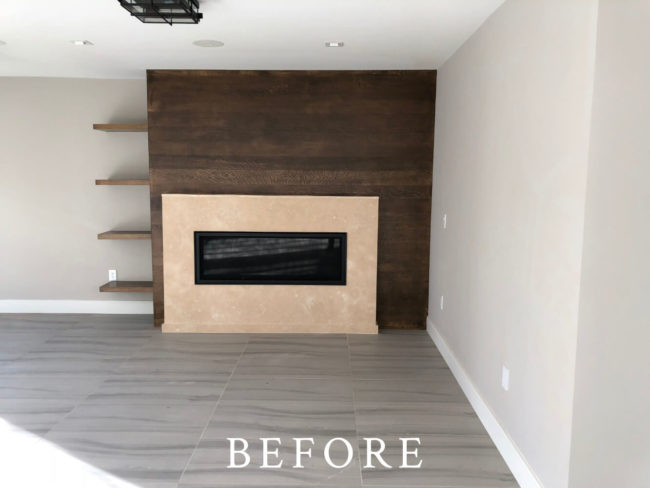Beacon Street Staging - Before