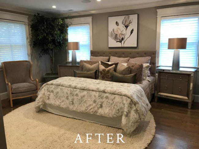 Brookline Townhome Staging - After