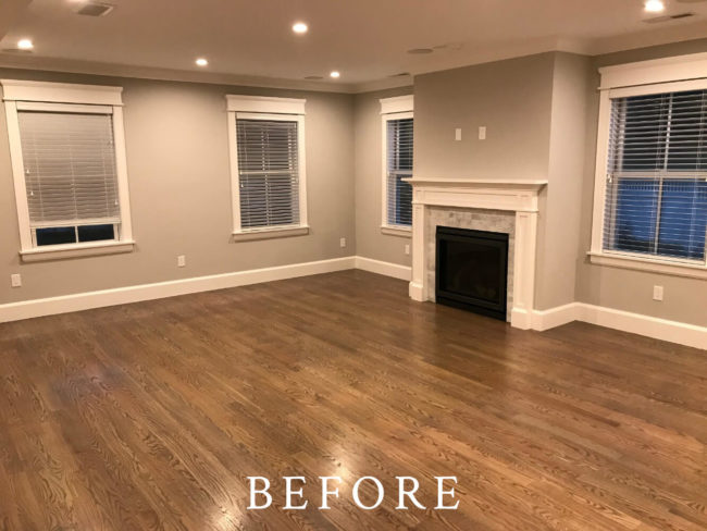 Brookline Townhome Staging - Before