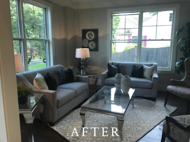 Cotton Street, Newton Staging - After