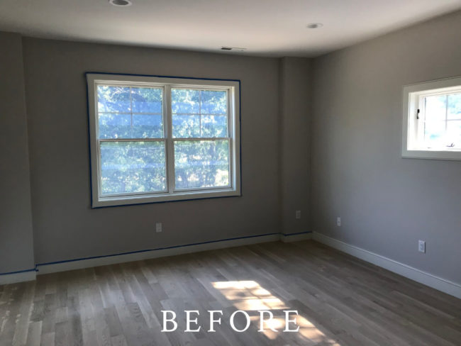 Cotton Street, Newton Staging - Before