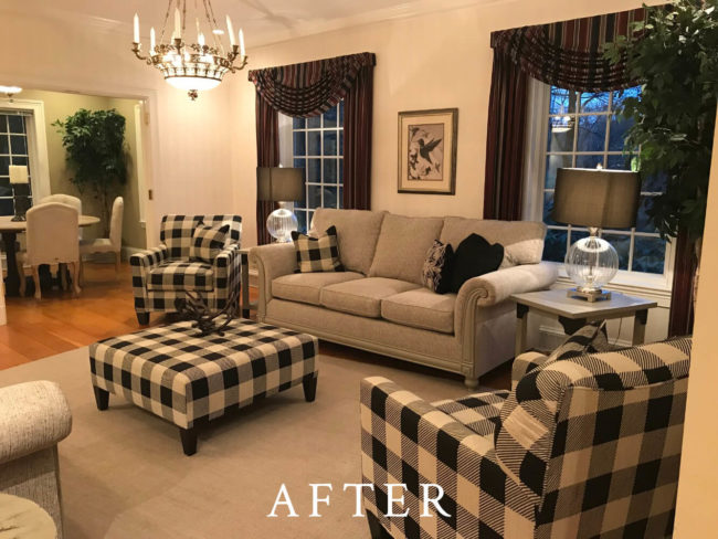 Dartmouth Street Staging - After