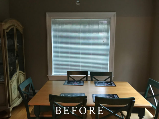 Dartmouth Street Staging - Before