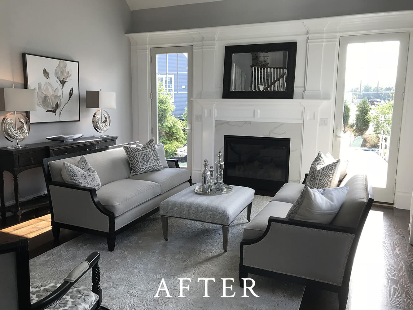 Model Home Staging - Living Room - After