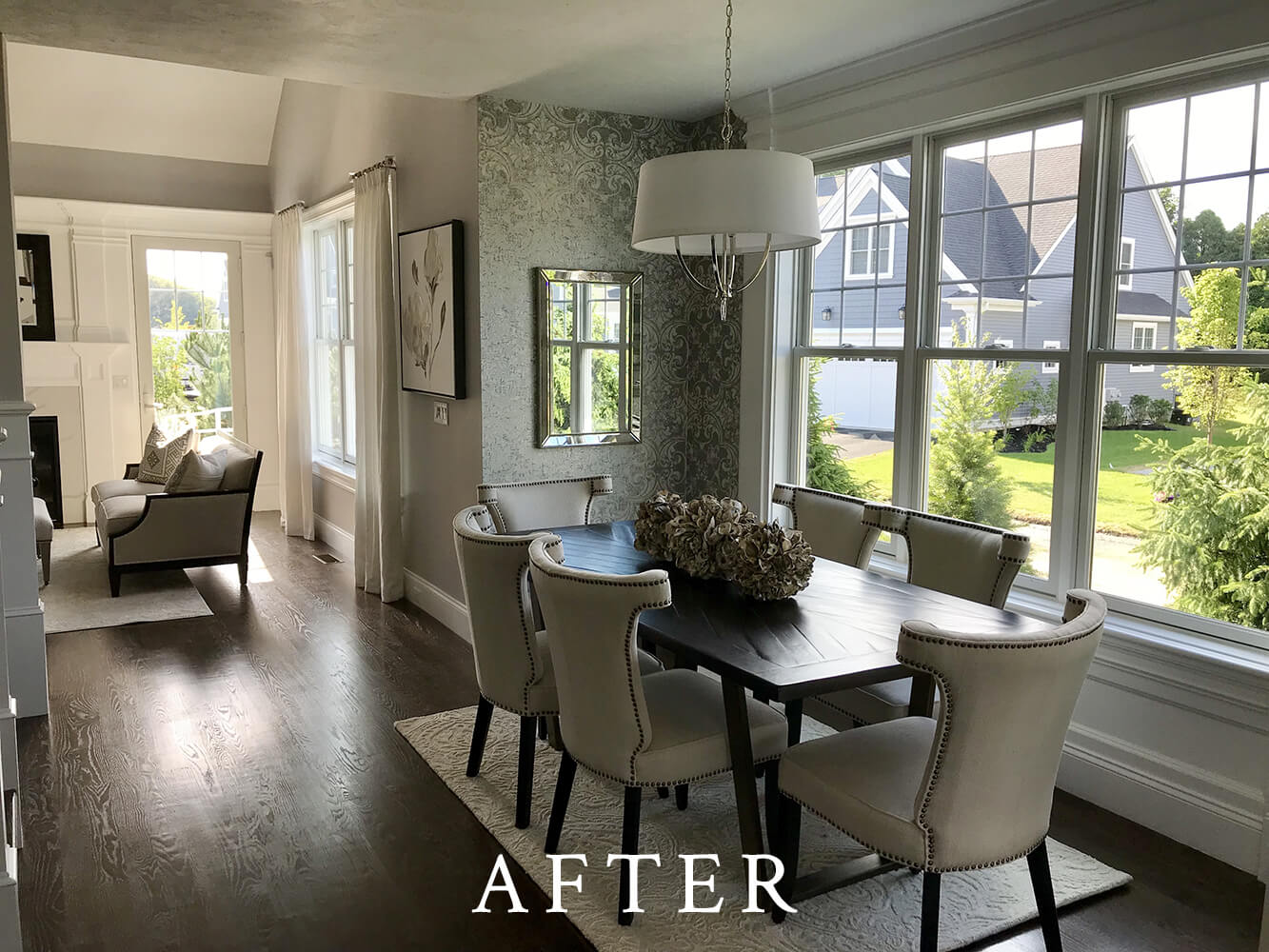 Model Home Staging - Dining Room - After