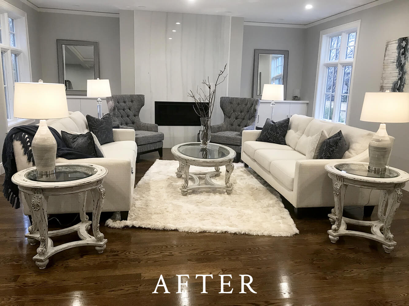 New Construction Staging - After