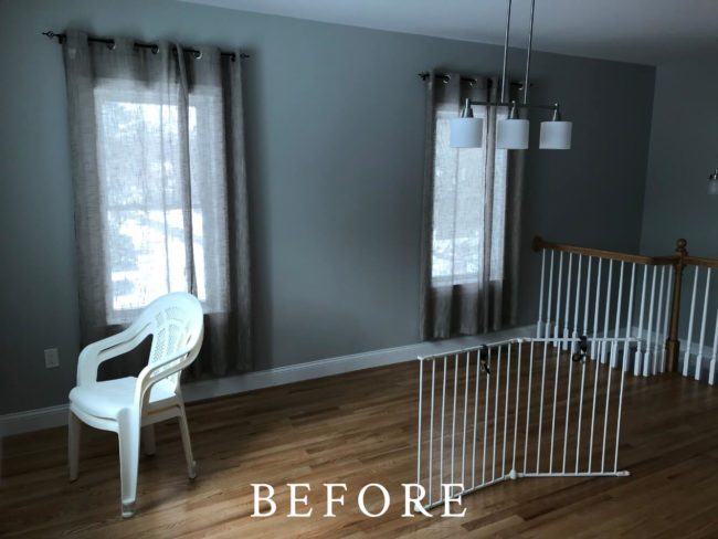 Wayland Staging - Before