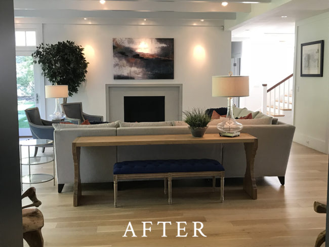 Weston Staging - After