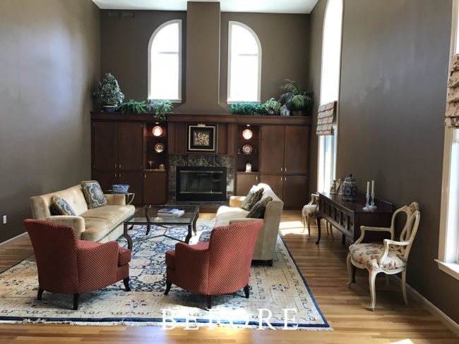 Weston Home Staging - Before