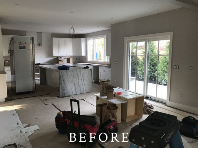 Woodchester Road, Newton Staging - Before