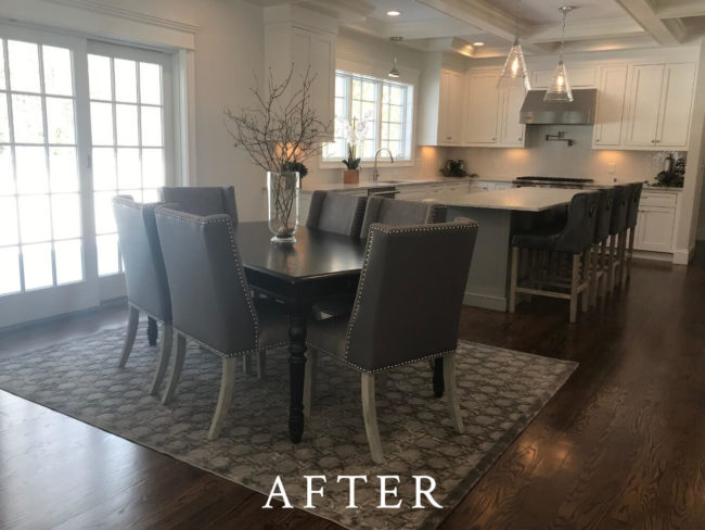 Fields Pond Staging - After