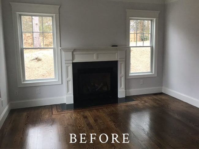 Fields Pond Staging - Before