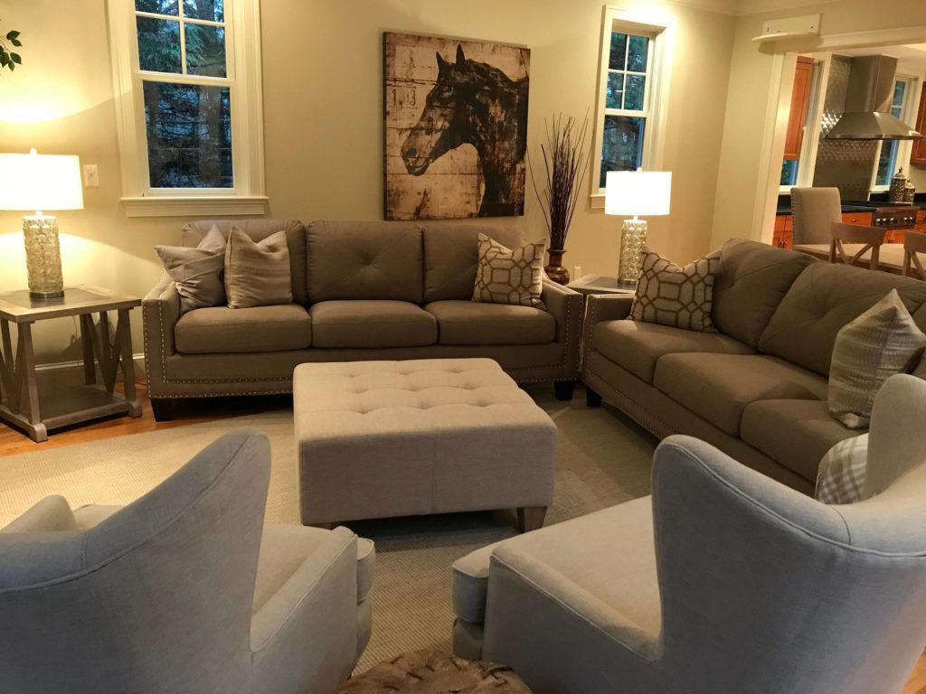 Balance in Home Redesign, Redesigning Interior, Redesign Home Makeover - Daniel H. Houde Design, Professional Home Staging and Interior Design Services