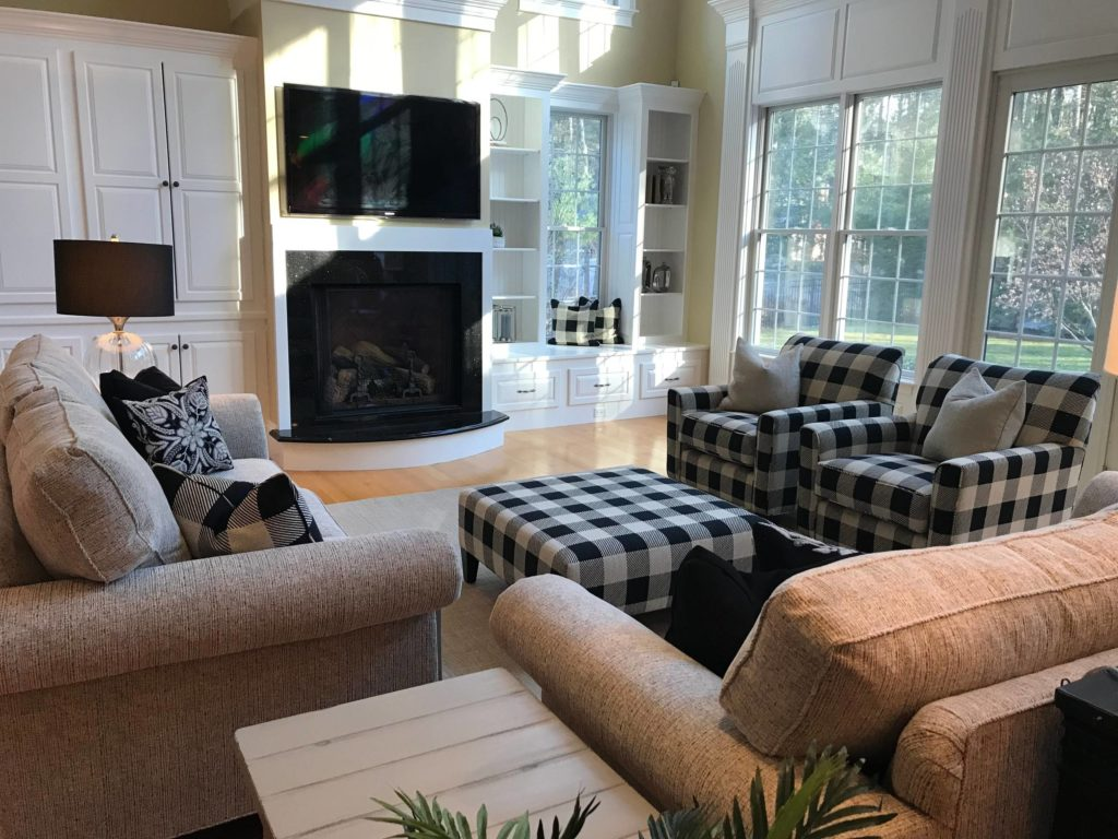 Repetition in Home Redesign, Redesigning Interior, Redesign Home Makeover - Daniel H. Houde Design, Professional Home Staging and Interior Design Services